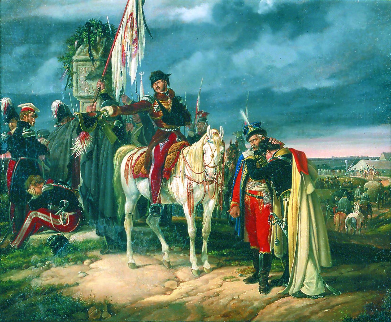 Finis Poloniae (1831) obraz Dietricha Montena